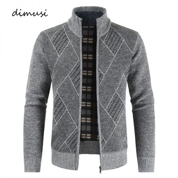 Mens Sweaters Winter Men Thick Warm Knitted Sweater