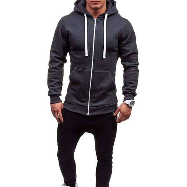 Winter Mens Hoodies Sportswear Tracksuit