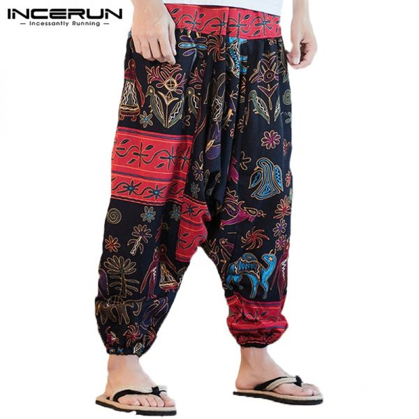 New Harem Pants Cotton Trousers Men pants