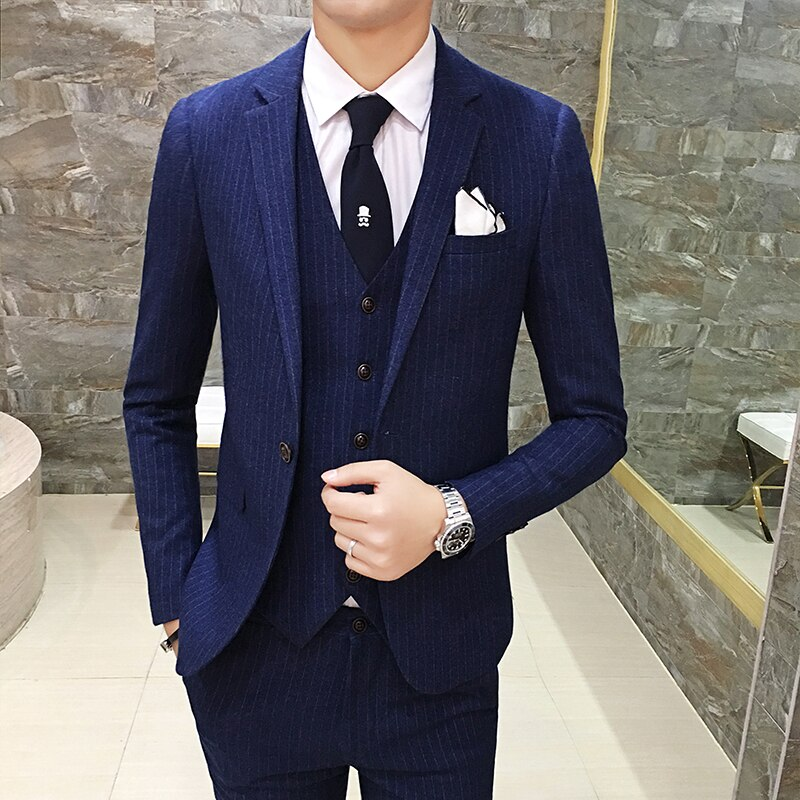 Mans Brand Blazer Formal Wedding Suit Blazer