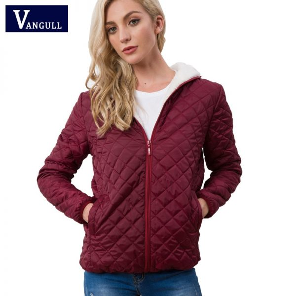 New Spring Autumn Women's Hooded Fleece Basic Jacket