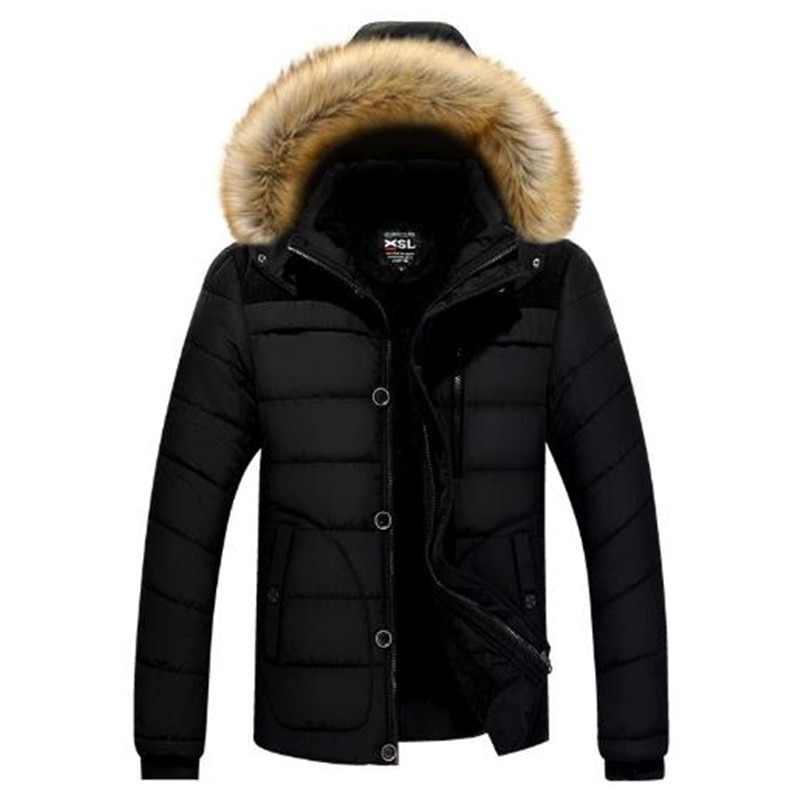 Thick Winter Jackets Men's Parkas Casual Outwear Jackets