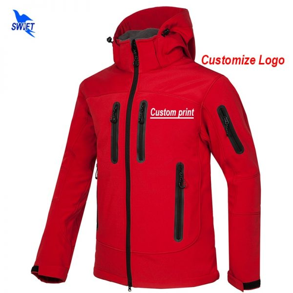 New Jacket Men Fleece Thermal Outdoor Coat