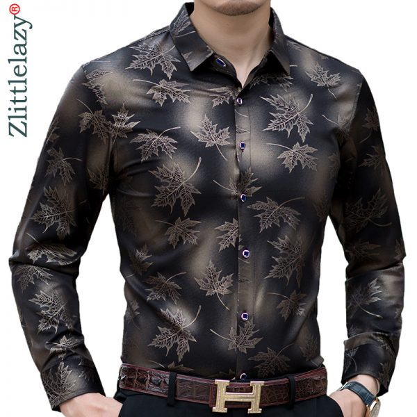 new fashion designer shirts long sleeve shirts