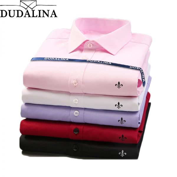 Fashion Casual Long Sleeve Business Formal Shirt