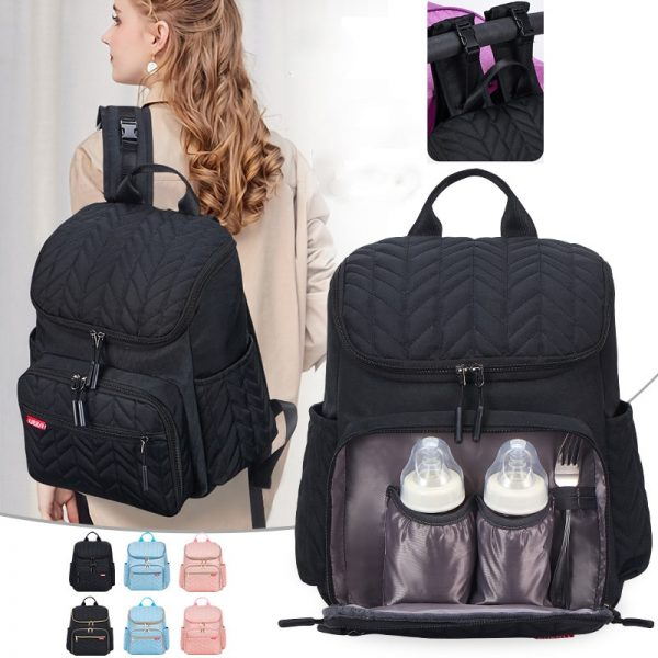Diaper Bag for Mom Nappy Backpack Baby Care bags
