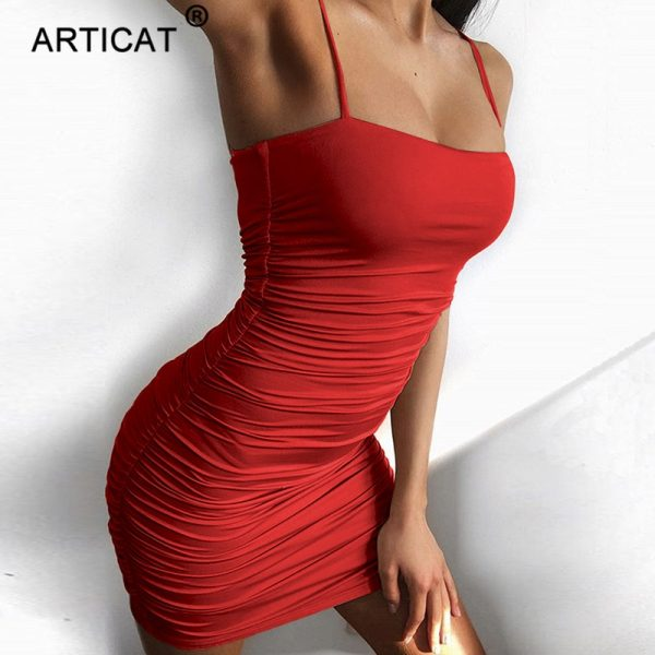 Black Sexy Bodycon Summer Dress Mini Casual Party Dress