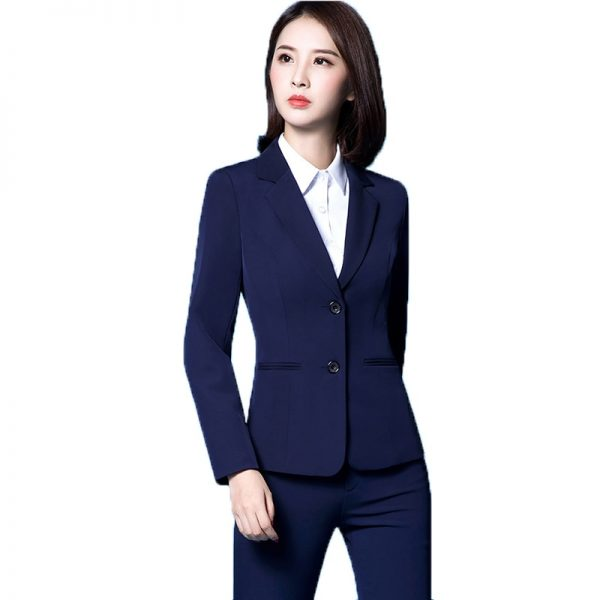 New skirt set pant suit set office suits for women blazer trouser
