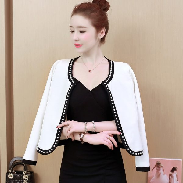 women's fall short jacket casaco feminino coats
