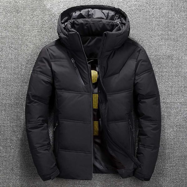 Winter Jacket Mens Quality Thermal Thick Coat
