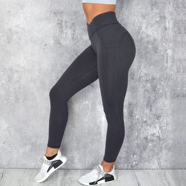 yoga leggings sport women fitness V Shape Legging