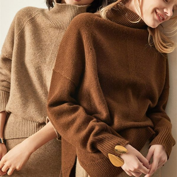 Winter Cashmere Sweater Women's Pullover