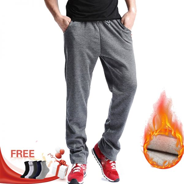 Men Gyms pants Mid Cotton Men's casual sweatpants
