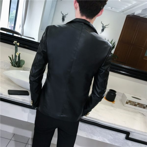 Fashion Streetwear Blazer Jackets Male