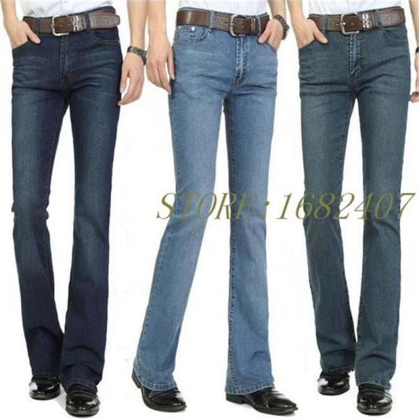 Casual Jeans Male Bottom Jeans