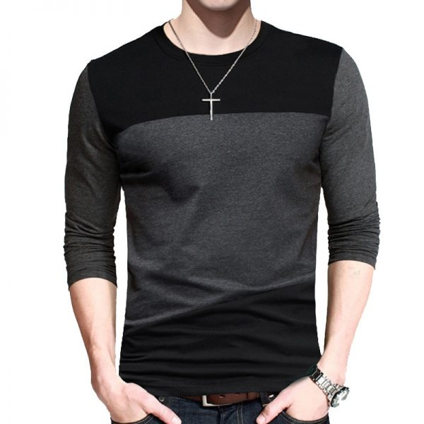 Korean Browon Autumn Men T Shirt
