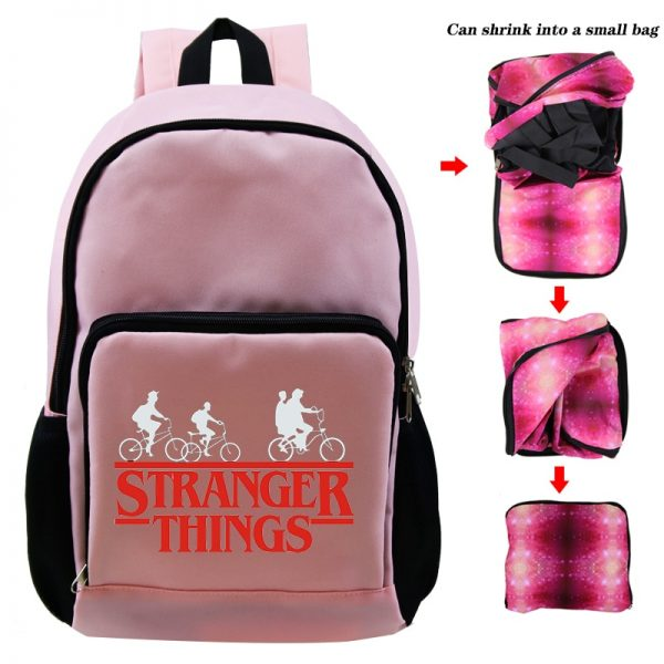 Knapsack Student School Bag Laptop Backpack