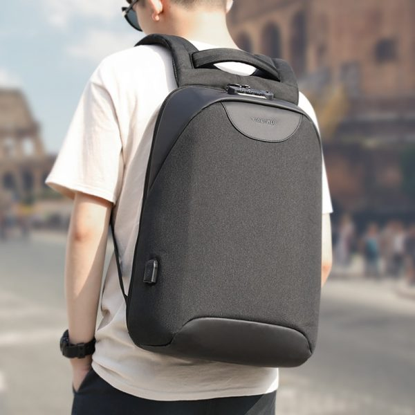 Fashion Backpacks USB Charging Laptop Backpack