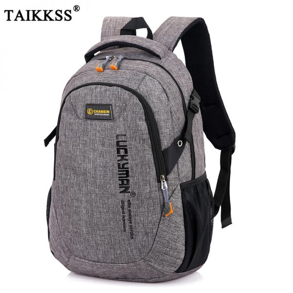 New Men's Backpack Bag Polyester Laptop Backpack