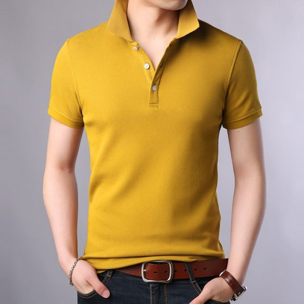 Fashion Brands Polo Shirt Men's 100% Cotton shirts