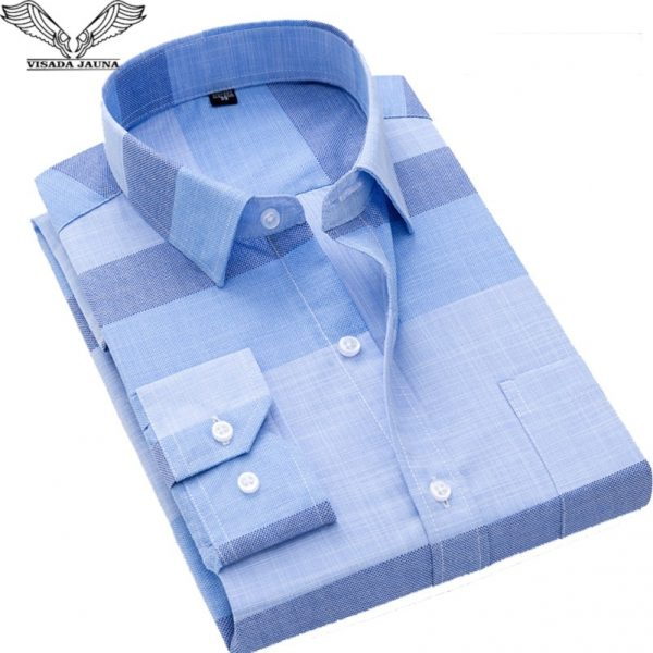 Fashion Casual Men Printed Business Shirt
