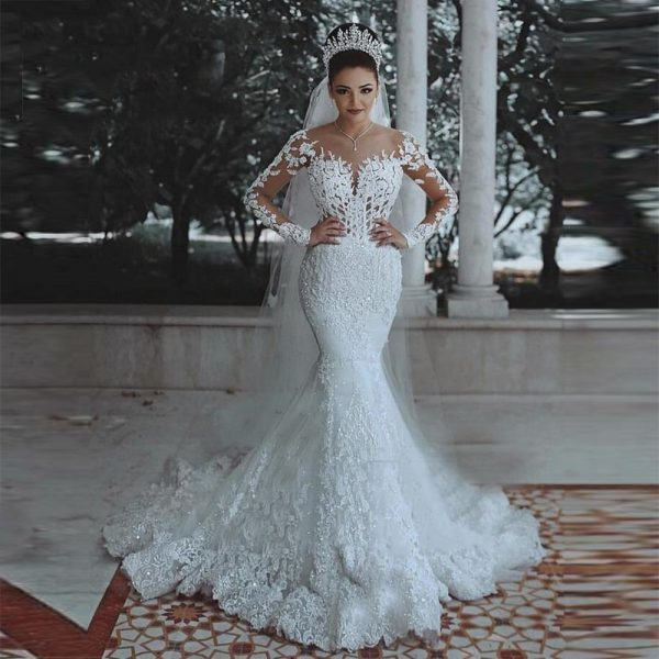 Mermaid Wedding Dress With Wedding Gowns