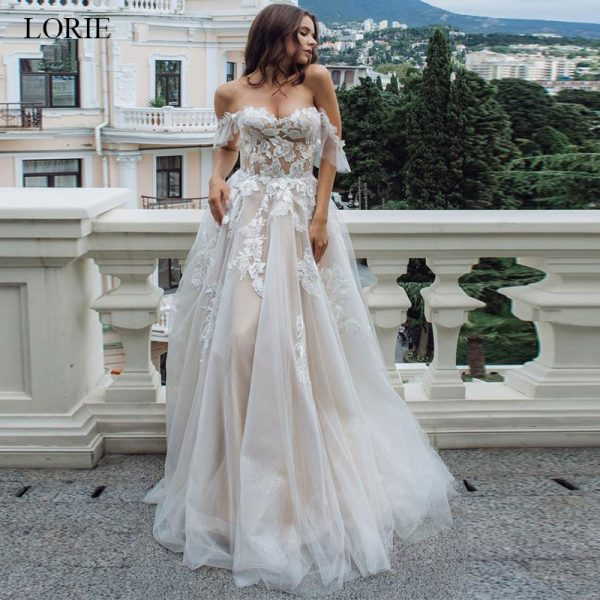 Wedding Dress Backless A-Line Wedding Dress