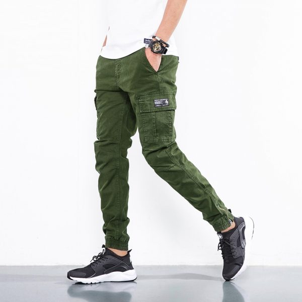 Cotton Military Casual Cargo Pants