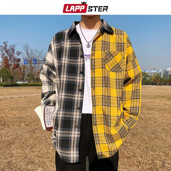 Men Lappster Cotton Long Sleeve Shirt