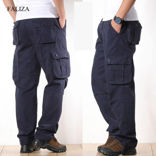 Cargo Pants Multi Pockets Style Pants
