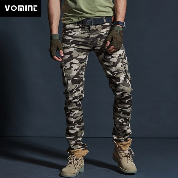 Army Cargo Pockets Casual Pants