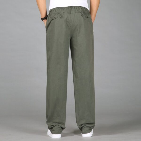 Fashion Men Pants Casual Cotton Long Pants
