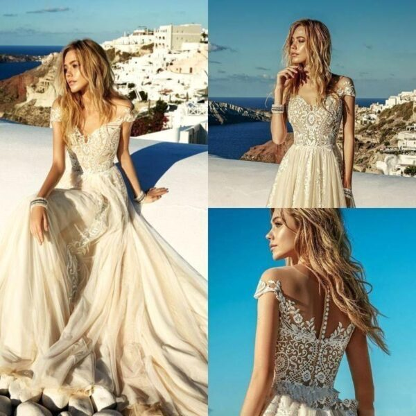 Bridal Dress Boho Wedding Gowns