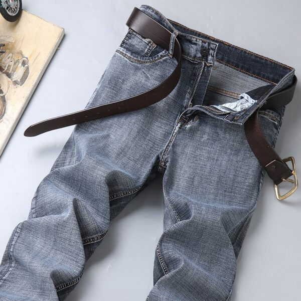 Men's Jeans Denim Trousers Blue Pants
