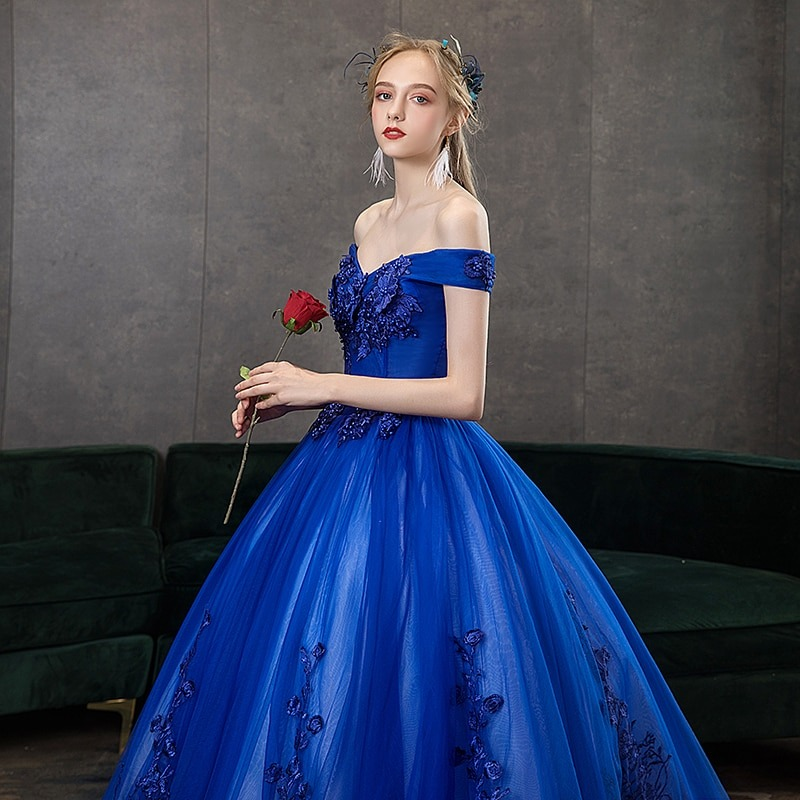 Sexy V-neck Ball Gown Quinceanera Dress