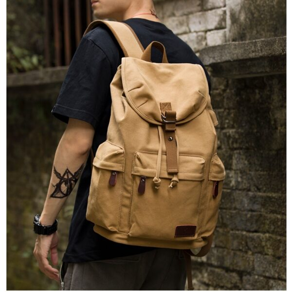 Vintage Laptop Travel Bags Backpack