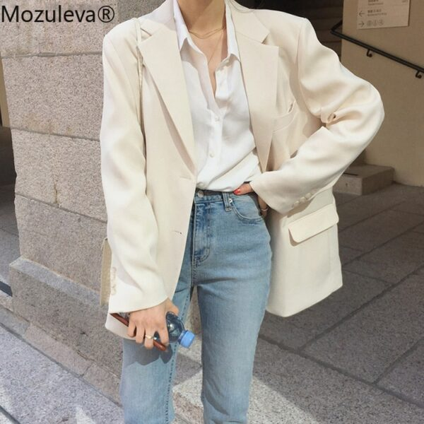Women Summer Suit Single-Breasted Blazer
