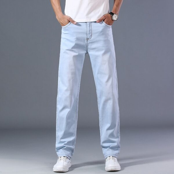 Light Blue Denim Jeans Pants