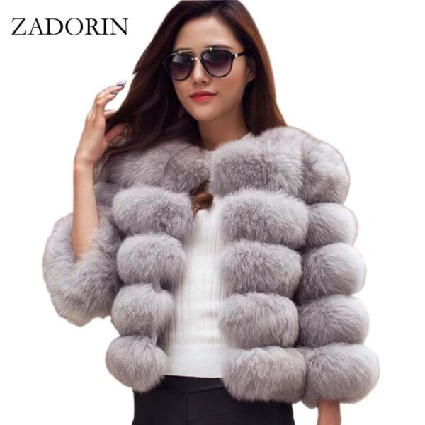 Women Winter Mink Warm Coats