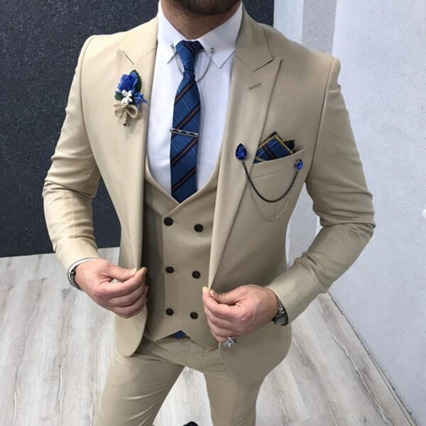 Men Tuxedos Suits Pants Vest