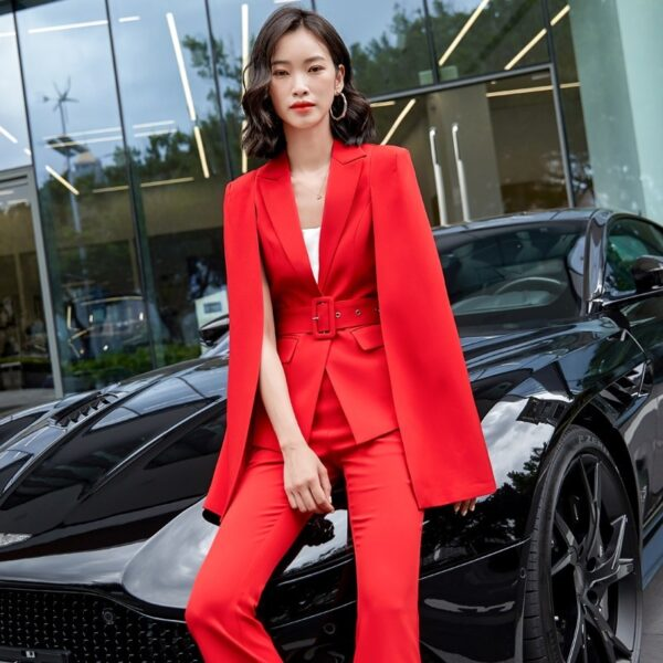 Women Business Styles Suits Blazers