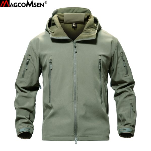 Camouflage Army Hoody Jacket Coat