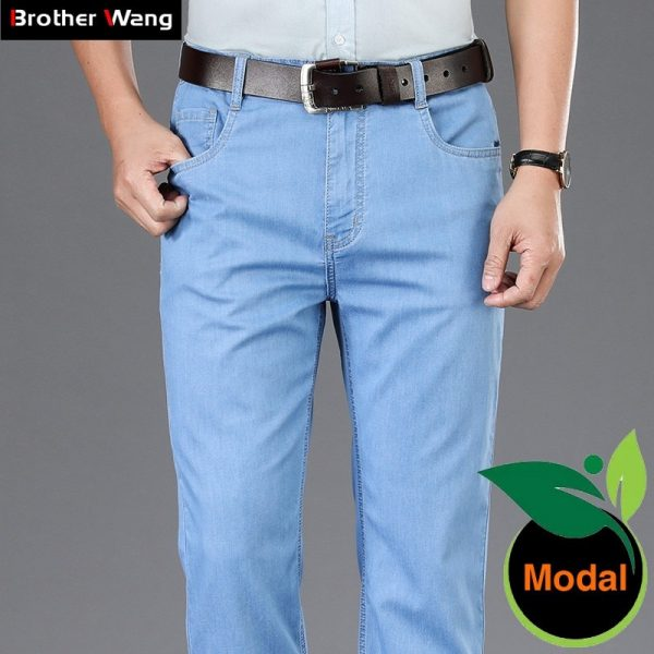 Summer Business Casual Jeans Pants