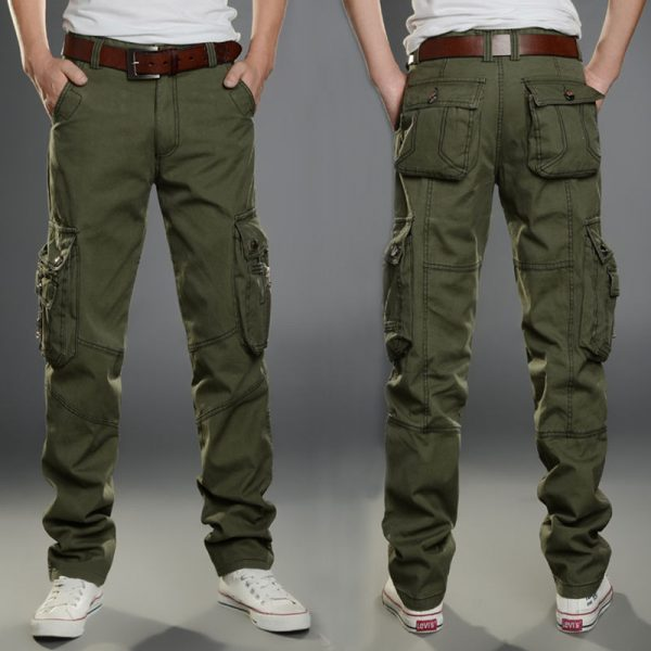 Army Cotton Trousers Casual Pants