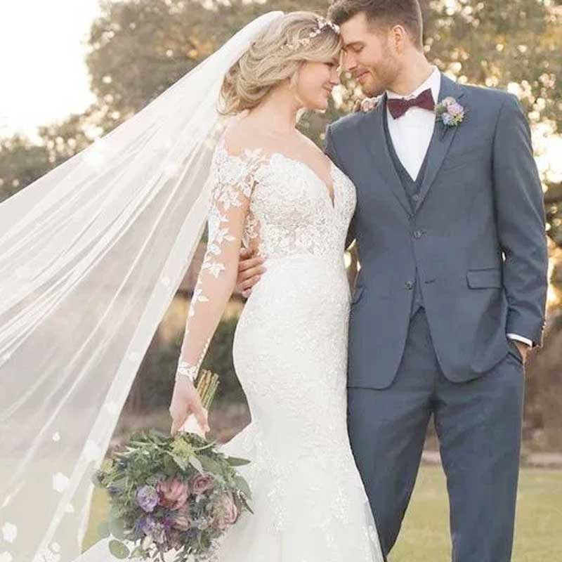 Choosing-From-Among-the-Wedding-Dress-Shapes