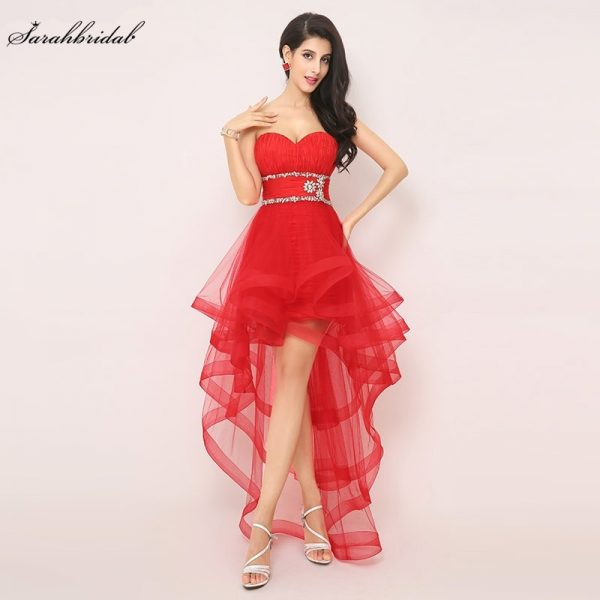 Sexy Red Gown Prom Dresses