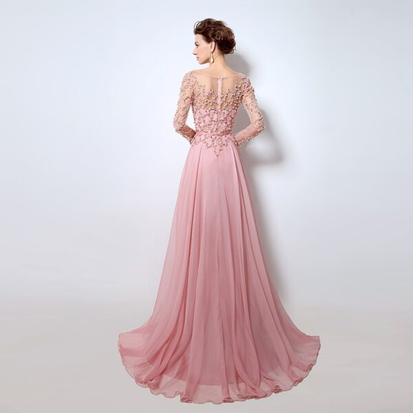 Long Sleeve Sexy Prom Dresses