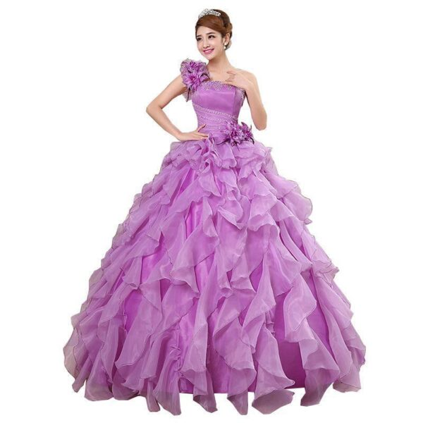 Quinceanera Crystal Luxury Prom Dresses